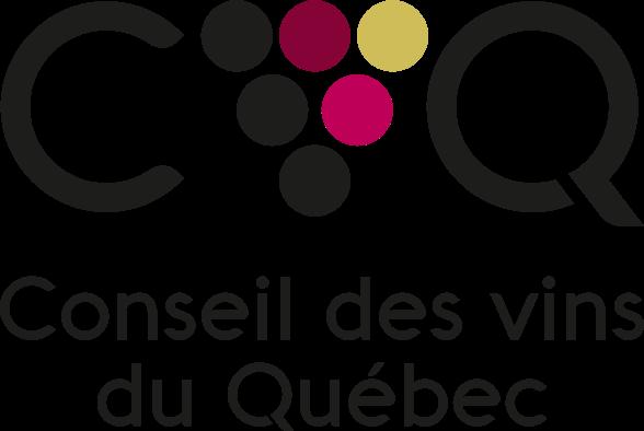 Vins du Québec | Logo détouré transparent du Conseil des vins du Québec - CVQ