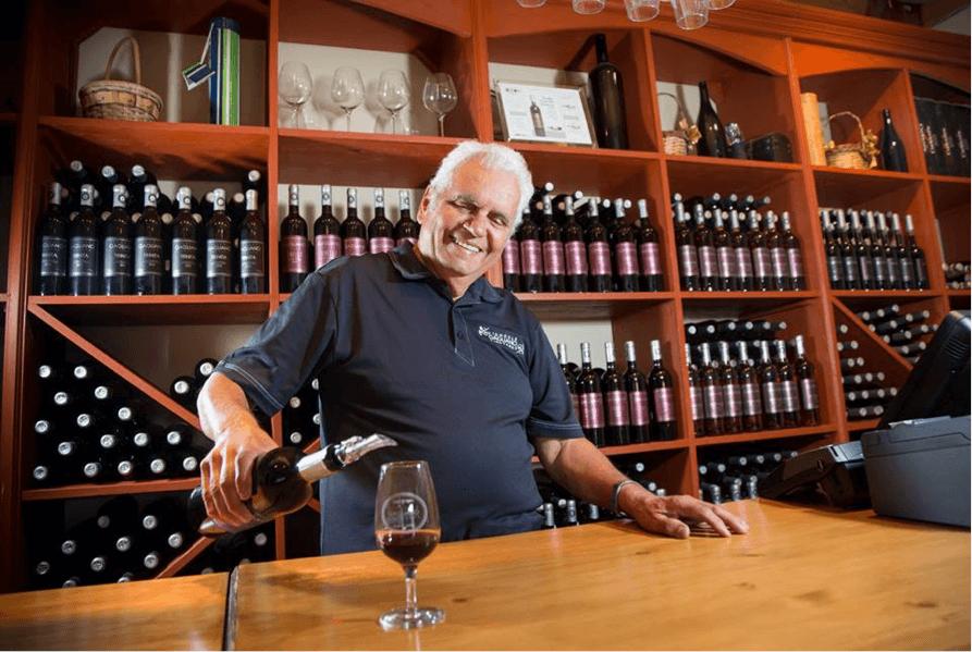 Alfonso Gagliano du Vignoble Gagliano