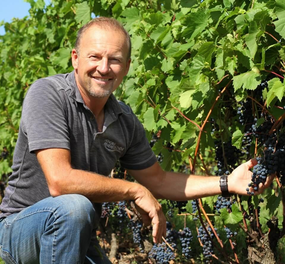 Vins du Québec | Daniel Lalande du Vignoble Rivière du Chêne et du Vignoble La Cantina