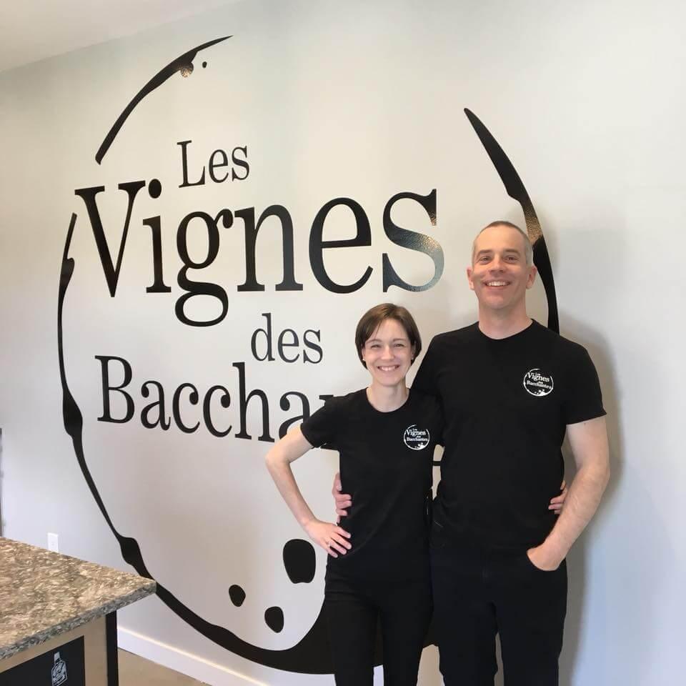 Sébastien Daoust du vignoble Les Vignes des Bacchantes