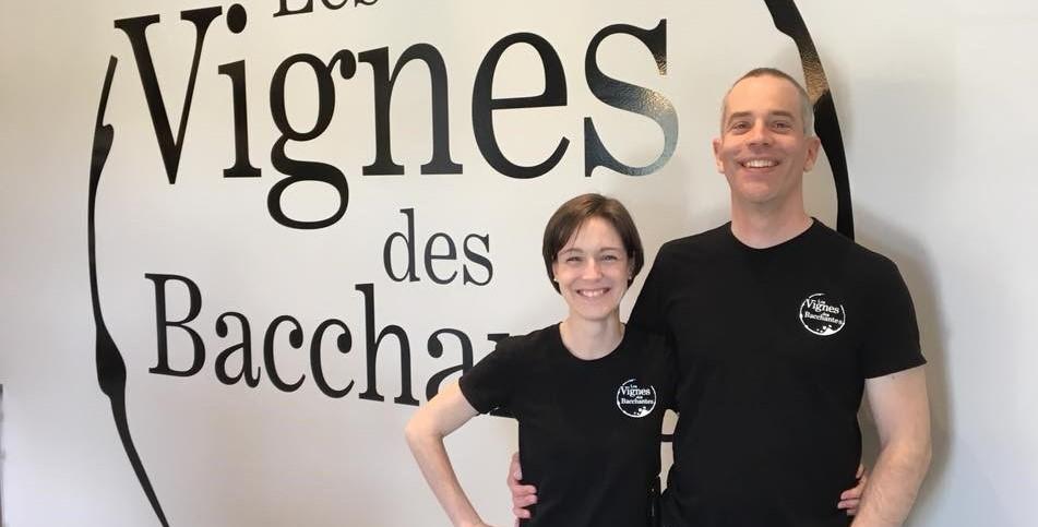 Sébastien Daoust et Josée Léger, VIgnoble Les Bacchantes